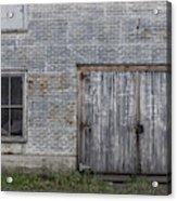 Old Trackside Warehouse Acrylic Print