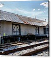 Old Train Depot In Gray, Georgia 2 Acrylic Print