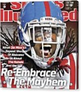 Ole Miss Re-embrace The Mayhem Sports Illustrated Cover Acrylic Print