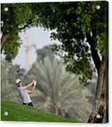 Omega Dubai Desert Classic - Day One Acrylic Print