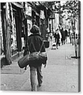 On The Streets Of The East Village, 1967 Acrylic Print