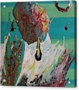 Once Upon A Planet Acrylic Print