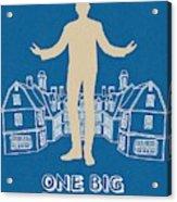 One Big Home Acrylic Print