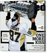 One More Kiss How The Penguins Marched To The Franchises Sports Illustrated Cover Acrylic Print