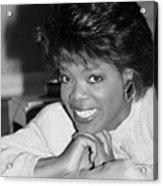 Oprah Winfrey, 1986 Acrylic Print