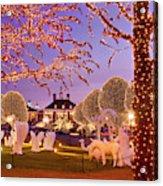 Opryland Hotel Christmas Acrylic Print