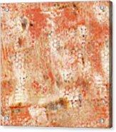 Orange Day Acrylic Print