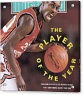 Oregon State Gary Payton Sports Illustrated Cover Acrylic Print