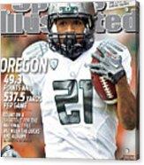 Oregon State University Vs University Of Oregon Sports Illustrated Cover Acrylic Print