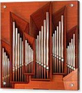 Organ Of Bilbao Jauregia Euskalduna Acrylic Print