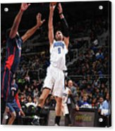 Orlando Magic V Detroit Pistons Acrylic Print
