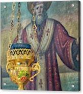 Orthodox Icon Acrylic Print