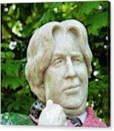 Oscar Wilde Statue One  Acrylic Print