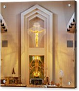 Our Lady Of The Universe Cathedral Acrylic Print