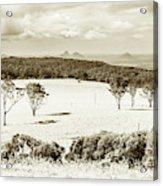 Outback And Beyond Acrylic Print