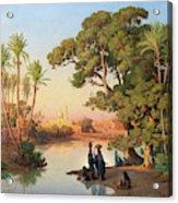 Outskirts Of Cairo Acrylic Print