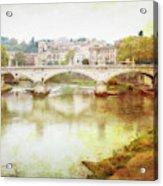 Over The Tiber Acrylic Print