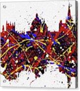 Oxford Colorful Skyline Acrylic Print