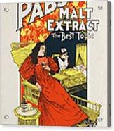 Pabst Malt Extract, The Best Tonic Acrylic Print