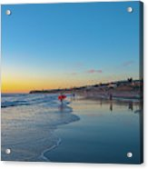 Pacific Beach Sunset  Acrylic Print