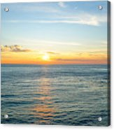 Pacific Ocean Sunset Acrylic Print