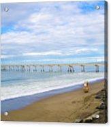 Pacifica Municipal Pier - California Acrylic Print
