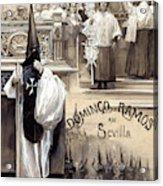 Palm Sunday In Seville Acrylic Print