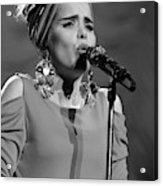 Paloma Faith Live At Manchester Apollo 2013 January 24th Acrylic Print