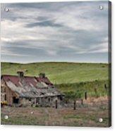 Palouse Barn 9907 Acrylic Print
