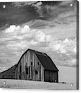 Palouse Barn Ir 9335 Acrylic Print