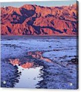 Panamint Reflection 2 Acrylic Print