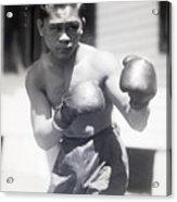 Pancho Villa In Fighting Pose Acrylic Print