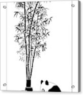 Panda Juice Acrylic Print
