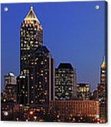 Panorama Of Atlanta, Georgia Acrylic Print