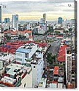Panorama Of Ho Chi Minh City Acrylic Print