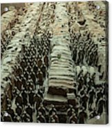 Panorama Of Pit 1, Terra Cotta Warriors Acrylic Print