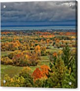 Panoramic Autumn View Acrylic Print