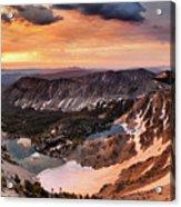 Panoramic Cdt Sunrise Acrylic Print