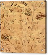 Paper Petal Patterns Acrylic Print