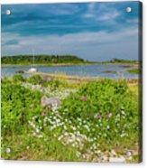 Paradise In Maine Acrylic Print