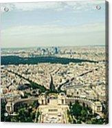 Paris, Je Taime Acrylic Print