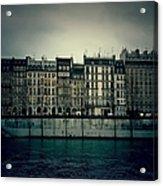 Parisian Architecture Acrylic Print