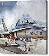 Parked Hornet Acrylic Print