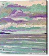 Pastel Night Acrylic Print
