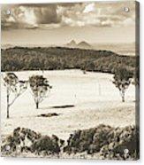Pastoral Plains Acrylic Print