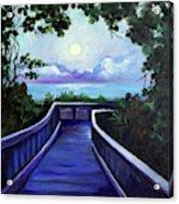 Path To Supermoon 2 Acrylic Print