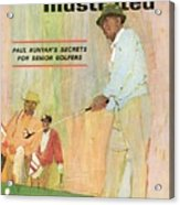 Paul Runyans Secrets For Senior Golfers Sports Illustrated Cover Acrylic Print