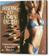 Paulina Porizkova Swimsuit 1985 Sports Illustrated Cover Acrylic Print