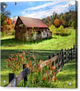 Peaceful Country Morning Acrylic Print