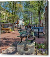 Pearl Street Mall Acrylic Print